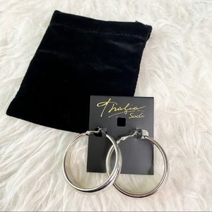 Thalia Sodi Hoop Earrings